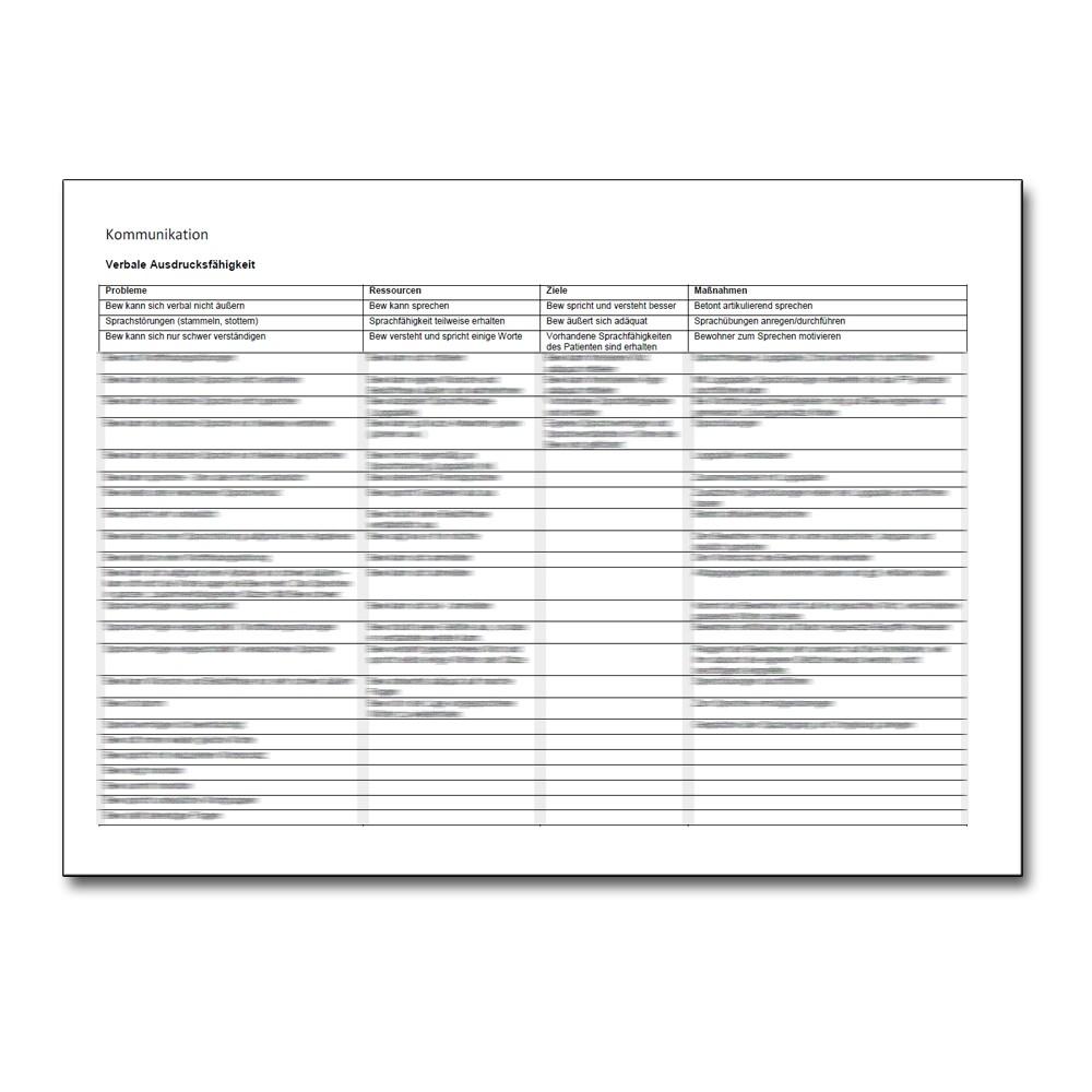 Download 6060 Formulierungshilfen Zu Allen 13 Aedl Pflegeplanung