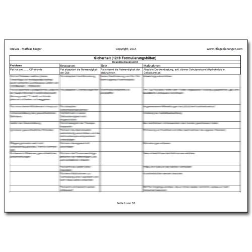 Download 1219 Formulierungshilfen Sicherheit Pflegeplanung
