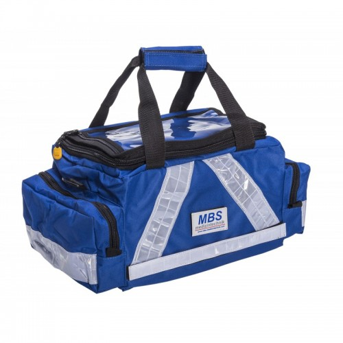 Pflegetasche PRO Multi blau komplett mit Füllung für Pflegekräfte