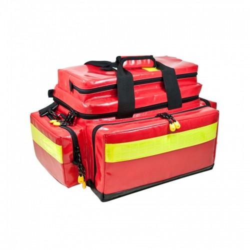 Pflegetasche MBS Advanced - rot komplett mit Füllung