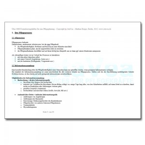 Über 2000 Formulierungshilfen für eine Pflegeplanung