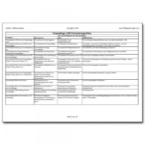 Download 1695 Formulierungshilfen Körperpflege Pflegeplanung