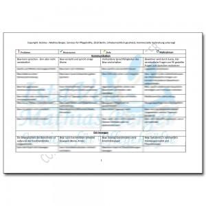 download pflegeplanung demenz herausfordernde kommunikation peg - Pflegeplanung Schreiben Muster
