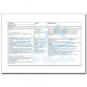 Download: Pflegeplanung Demenz Pneumoniegefahr