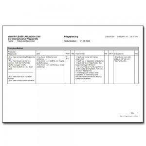 Pflegeplanung Schnell & Einfach - Das Pflegeplanungsprogramm