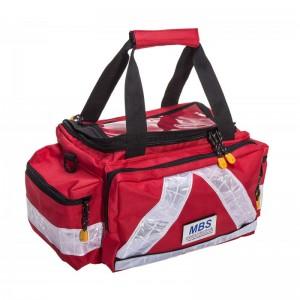 Pflegetasche PRO Basic rot komplett mit Füllung für Pflegekräfte