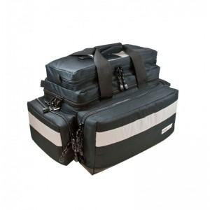 Pflegetasche MBS Advanced - schwarz komplett mit Füllung